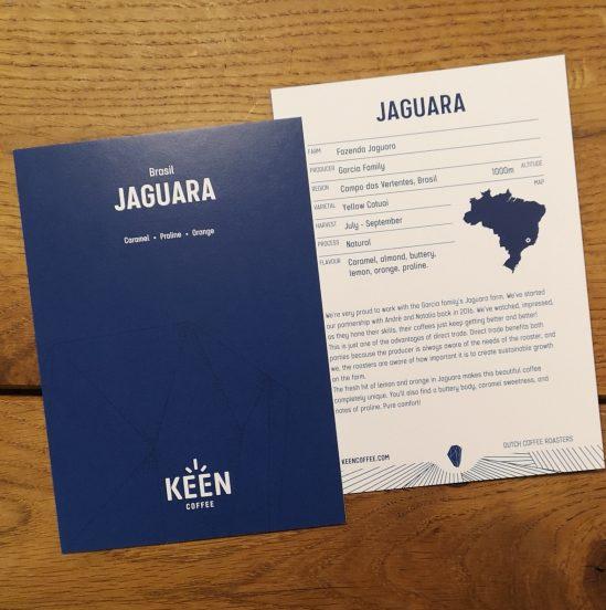 Jaguara Brasil info card - Keen Coffee