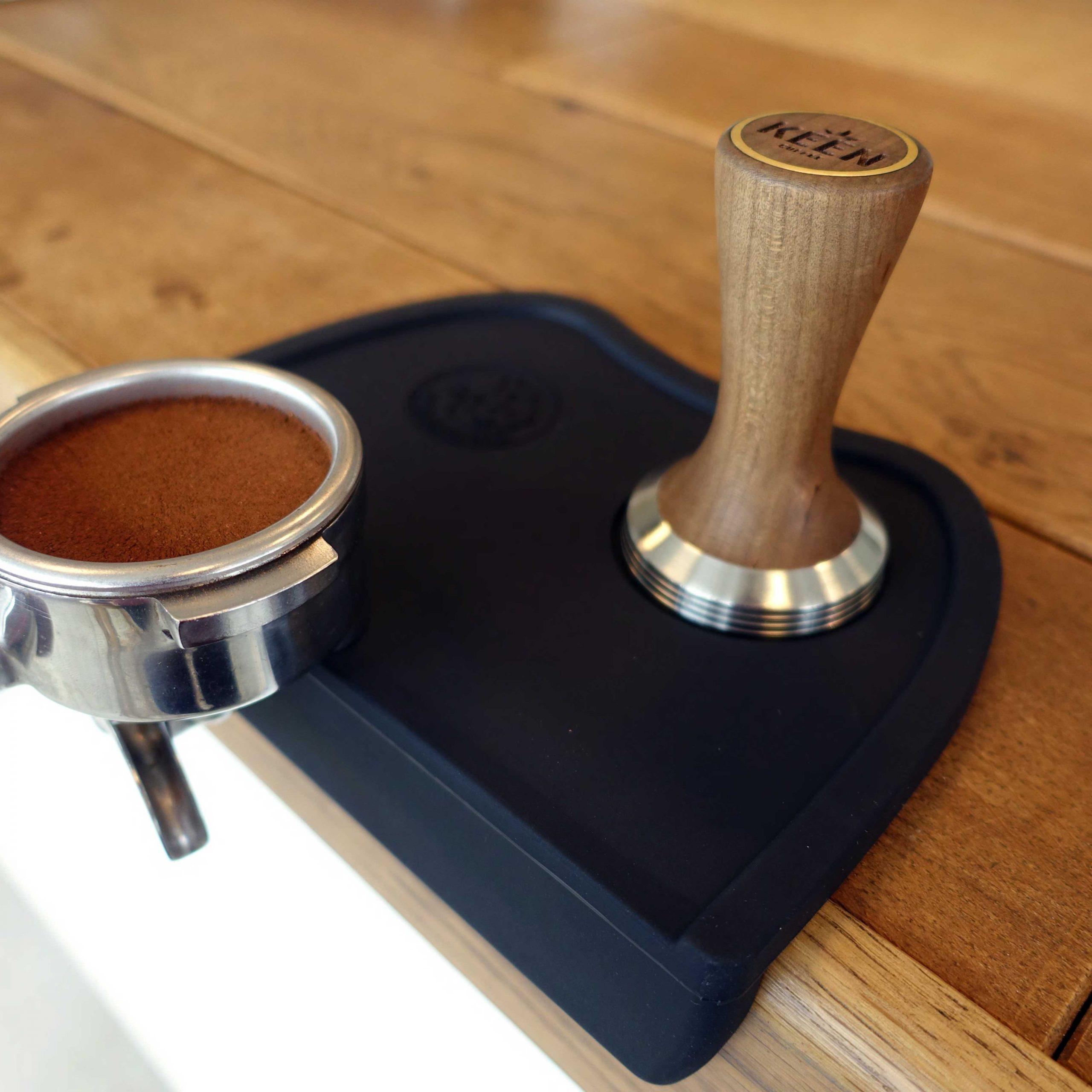 Corner Tamper Mat Rhino Coffee Gear