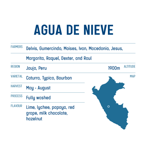 Agua de Nieve Peru (data) - Keen Coffee